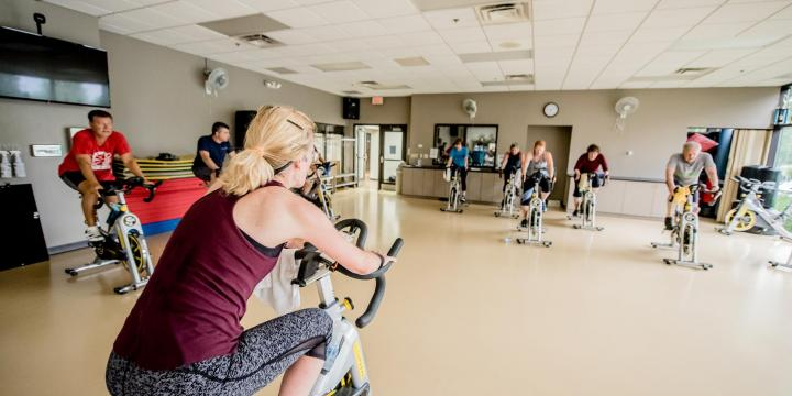 Elmhurst indoor cycling workout